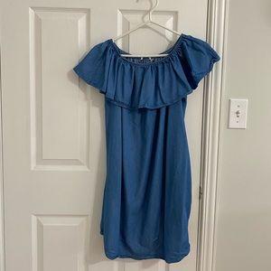 La Vie En Rose Off The Shoulder Dress